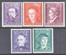 German Occupation Poland NB 19-23   * - Occupation 1938-45