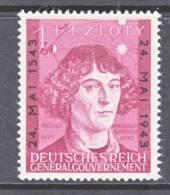 German Occupation Poland NB 27   * - Occupation 1938-45