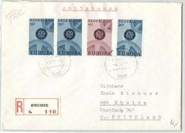 Niederlande - Einschreiben Aus Enschede 1967 - Periode 1980-... (Beatrix)