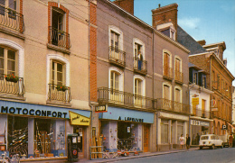 Thematiques 35 Ille Et Vilaine Janzé Rue Nationale Echoppe Devanture Motoconfort  Et Lefeuvre Jeux Jouets - Autres Communes