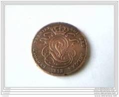 5 CENTIMES 1833 - LEOPOLD PREMIER Roi Des Belges - - 1831-1865: Léopold I.