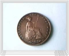 1/2 PENNY - VICTORIA - 1841 - 1816-1901 : Frappes XIX° S.