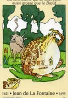 FRANCE - ENTIER Du Type N° 2959 - Carte Fable De La Fontaine - La Grenouille Qui Veut Se Faire Aussi Grosse Que Le B&oel - Entiers Postaux