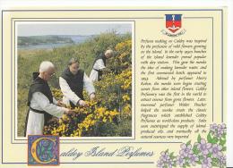 Wales Postcard - Caldey Island Perfumes      LC2920 - Pembrokeshire