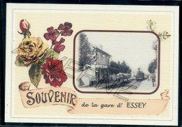 21  ESSEY  ...... Gare Souvenir Au Fusain Creation Moderne Série Limitée Et Numerotée 1 à 10 ... N° 2/10 - France