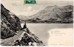 Lac D'Allos, Sur Le Sentier Du Lac - France