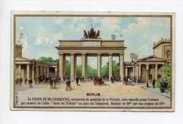 La Phosphatine Falières - Berlin - Chromos