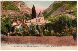 Buis Les Baronnies, Le Château De Rien Chaud - Buis-les-Baronnies