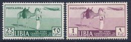 Libya, Scott # C36,C38 Mint Hinged Tripoli Sample Fair, 1939 - Libya