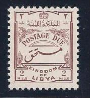Libya, Scott # J37 Mint Hinged Postage Due, 1952