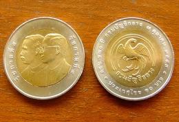 10 Baht Bimetall  120. Generals Department  Thailand 2011  Nr. 57 - Thaïlande