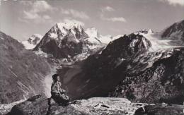 Switzerland Arolla Le Mont Collon Real Photo - VS Valais