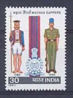 INDE 0613 Sapeurs Du Génie De L'armée - Inde