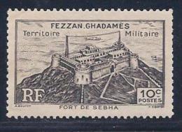 Libya, Scott # 1N1 Mint Hinged Fezzan-Ghadames Occupation Stamp, 1946 - Unused Stamps