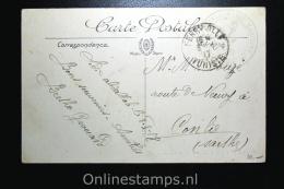 Tunesia: 1917 Picture Postcard Gendarmerie Marine Bizerte Quartier De Genie - Covers & Documents