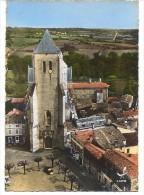 CPSM - CELLES S/ BELLE - Le Clocher Du Xve Siècle - Editions LAPIE / N°8 - Celles-sur-Belle