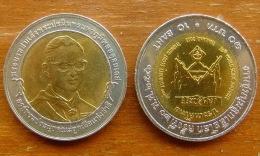 10 Baht Bimetall  Welt Pfadfindertreffen  Thailand 2003  Nr. 20 - Thaïlande