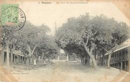 NOUVELLE CALEDONIE - NOUMEA - LA RUE DU GOUVERNEMENT - Nouvelle Calédonie