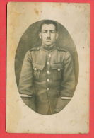 138764 / REAL PHOTO - Portrait Man Homme Mann Military Uniforms Prison GREECE - Bulgaria Bulgarie Bulgarien Bulgarije - Prigione E Prigionieri