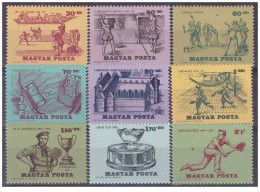 Ungheria - 1965 - Nuovo/new - Tennis - Coppa Davis - Mi N. 2127A/35A - Usati