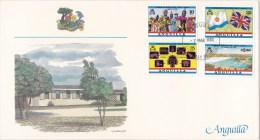 Anguilla 1983 History & Heritage Of Commonwealth FDC - Anguilla (1968-...)