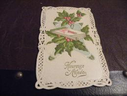A21.CPA....HEUREUSE ANNEE.1er JANVIER......rare Beau Plan .écrite & Voyagée - Nouvel An