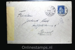 Switserland: Cover Bern To Kassel Germany, 1920 Censor Opened With Letter Inside - Cartas