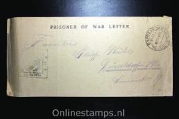 Germany, Kriegsgefangegen Cover American E.F. In France To Düsseldorf - Briefe U. Dokumente