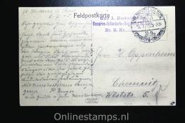 Germany, Picture Postcard Ausgabe Von Liebesgaben, 1915 To Chemnitz