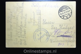 Germany, Picture Postcard Chelm, Warschau, To Coln, 1917 Feldpost - Briefe U. Dokumente