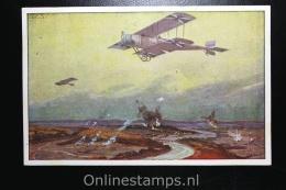 Germany, Picture Postcard Deutsche Luftflotten An De Marne , 1916