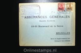 Belgium: Cover Etappengebiet West Courtrai/Kortrijk To Brussels, Durch Die Etappen-Inspection Gent Mi 4 + 5