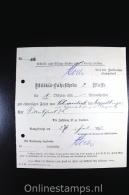 Germany 1917 , Militär-fahrschein 2 Klasse