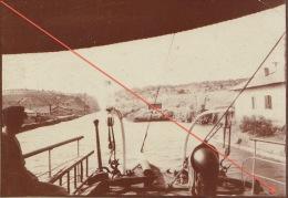 Photo Grèce Grec Passage Du Canal De Corinthe - Old (before 1900)