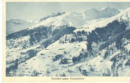 Clavadel - Gegen Frauenkirch + 1919 (3608) - GR Grisons