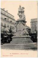 Marseille, Monument Puget (publicité Vieille Absinthe Picard)(AL) - Marseille