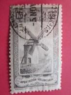 MUTUALIDAD APORTACION  VOLUNTARIA España  Timbre Stamp Label VIGNETTE ERINNOPHILIE Cinderellas Cenicientas Cenere - Erinofilia
