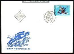 BULGARIA / BULGARIE  - 1983 - Winter Universiade - FDC - FDC