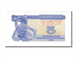 [#153903] Ukraine, 5 Karbovantsiv Type 1991 - Ukraine