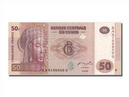 """[#302304] Congo, 50 Francs Type Masque Tshokwe """"Mwana Pwo"""" - Congo"""