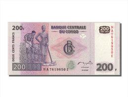 """[#302309] Congo, 200 Francs Type """"L'agriculture"""" - Zonder Classificatie"""