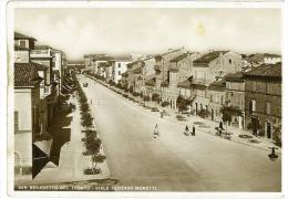 Cartolina - ASCOLI PICENO - SAN BENEDETTO DEL TRONTO - VIALE SECONDO MORETTI - MARCHE - Ascoli Piceno