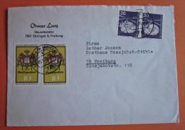 Brief Marke BRD Deutschland 1977 Tag Der Briefmarke MiF - BRD