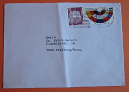 Brief Marke BRD Deutschland 1979 Wahlen Zum Europäischen Parlament - BRD