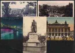 FRANCE / 1924-1931 LOT DE 34 CPA AYANT CIRCULE / 8 IMAGES (ref 5391) - Cartoline