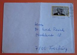 Brief Marke BRD Deutschland 1977 Jean Monnet - BRD