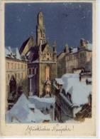 WIEN - Kirche Maria Am Gestade Nach Aquarell V. Karl Schwetz - Wien