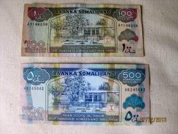Somaliland 500 + 100 Shilling - Somalia