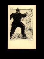 MILITARIA  - CROIX ROUGE - Guerre 14-18 - Carte Illustrée Par Louis RAEMAEKERS - Casque à Pointe - Luxembourg - Guerra 1914-18
