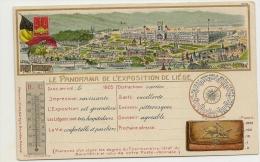 Panorama De L'exposition De Liége - 1905 - - Luik